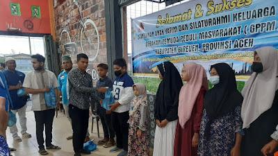 Sumbagan Para Dermawan Relawan GPPM Kabupaten Bireuen  Santuni anak nyatim dan Buka puasa Bersama