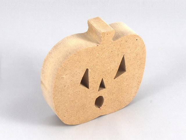 Handmade Halloween Jack-O-Lantern Made From MDF