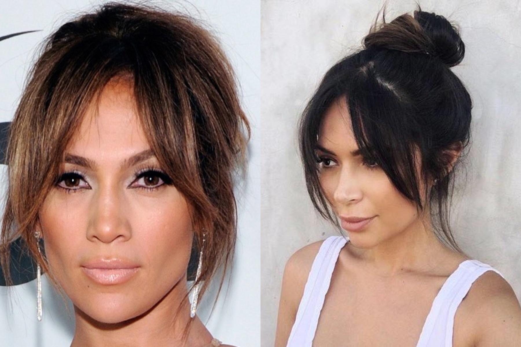 2018 Long Bangs Hairstyles For Women's - Haircuts Bangs 5