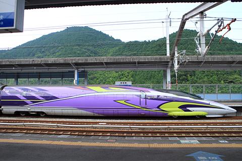 JR西日本 山陽新幹線「こだま741号」500 TYPE EVA 新岩国駅にて その4