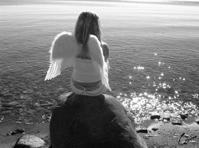 White Angel Near Water, Angels 5