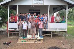 Sosialisasi pembangunan pabrik di desa Lalang Tayan Hilir