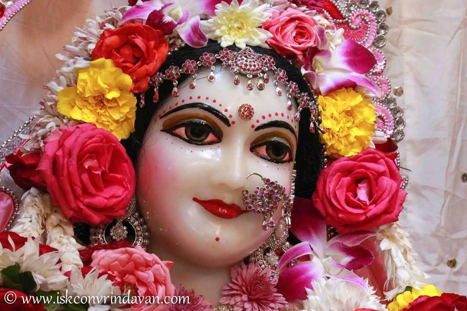 ISKCON Vrindavan Sringar Deity Darshan 06 Jan 2016 (15)