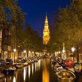 Amsterdam by João Silva - City,  Street & Park  Street Scenes ( zuiderkerk, holanda, amsterdam )