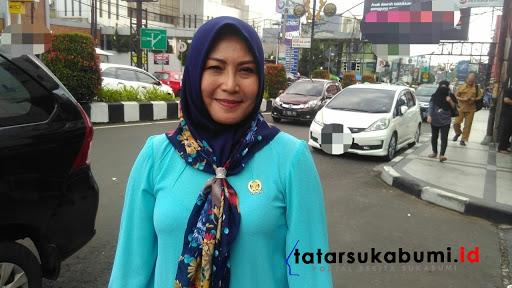 Ketua komisi IV Bidang Ketenagakerjaan DPRD Kabupaten Sukabumi, Dini Sutiasih // Foto : Rapik Utama