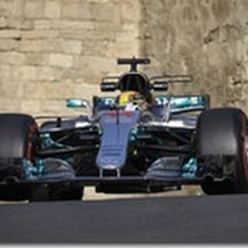 GP dell'Azerbaigian: Hamilton in pole