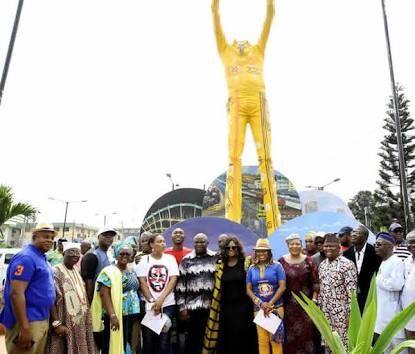 Why The Statue Of Fela Kuti In Lagos Has No Head