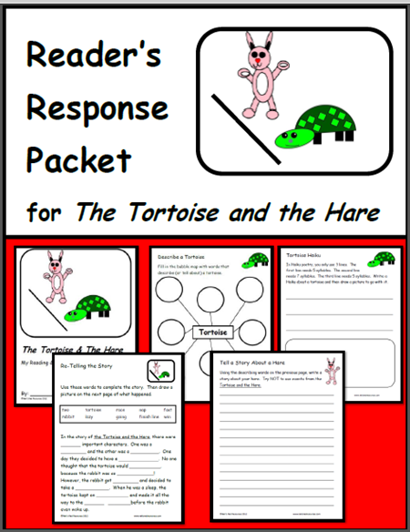 tortoise and the hare reading response