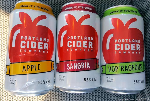Mybeerbuzz .com Highlight Portland Cider Concord Grape, Apple, Sangria & Hop'rageous