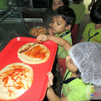 Pizza Making Activity (Jr.KG.) 28-7-2017