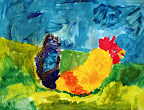 Rooster by Raquel
