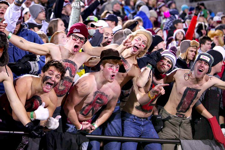 Griz Fans are the Best!  Photo by Patrick Record