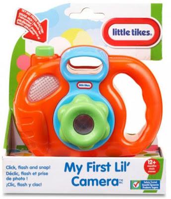 Máy chụp hình Little Tikes My First Lil Camera màu cam