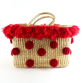 Nannacay Red Trim Tote