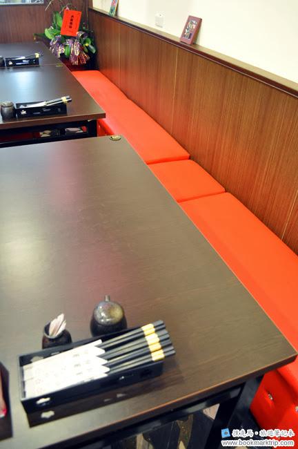 聚的定食沙發座位