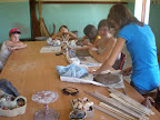 warsztay kos�wka (rajgr�d) ceramika, wiklina dzieciaki