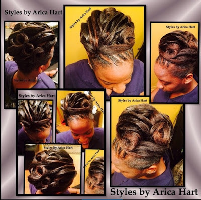 Black hair styles, updo, hair blog