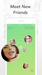 Kiwi - live video chat with new friends Screenshot