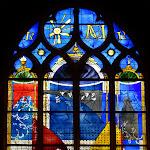 Eglise Saint-Etienne : vitrail