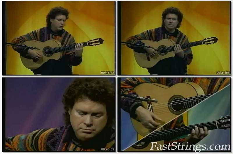 Mastery of the Flamenco Guitar Series with Guillermo Rios (Vol 1, 2, 3)