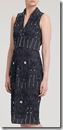 Gina Bacconi beaded dress