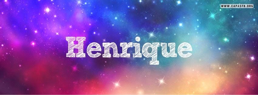 Capas para Facebook Henrique