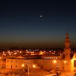 Shali nocture : la mosquée