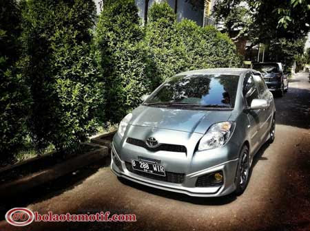 Modifikasi Toyota Yaris S Limited A T Trd Sportivo Medium Silver Dari