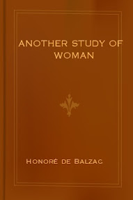 Cover of Honore De Balzac's Book Another Study Of Woman