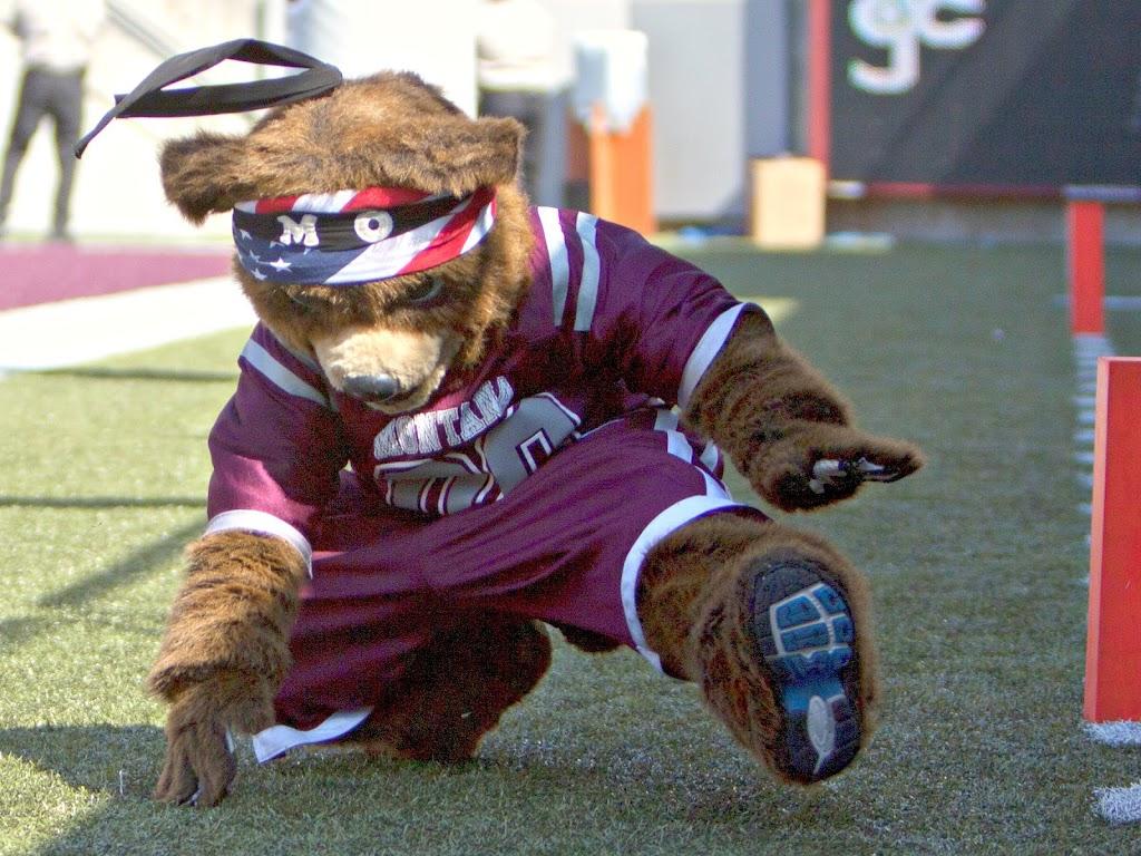 Mo' dancin'.  Washington - Grizzly Stadium, Montana Grizzlies vs. South Dakota Coyotes.  Missoula, MT, September 1st, 2012.