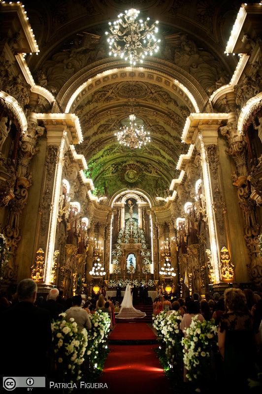Foto de casamento 1206 de Ana Rita e Sergio. Marcações: 15/05/2010, Casamento Ana Rita e Sergio, Igreja, Igreja Sao Francisco de Paula, Rio de Janeiro.