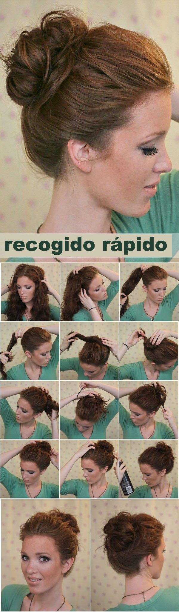 + 25 easy hairstyles 2018-2019 step by step 4
