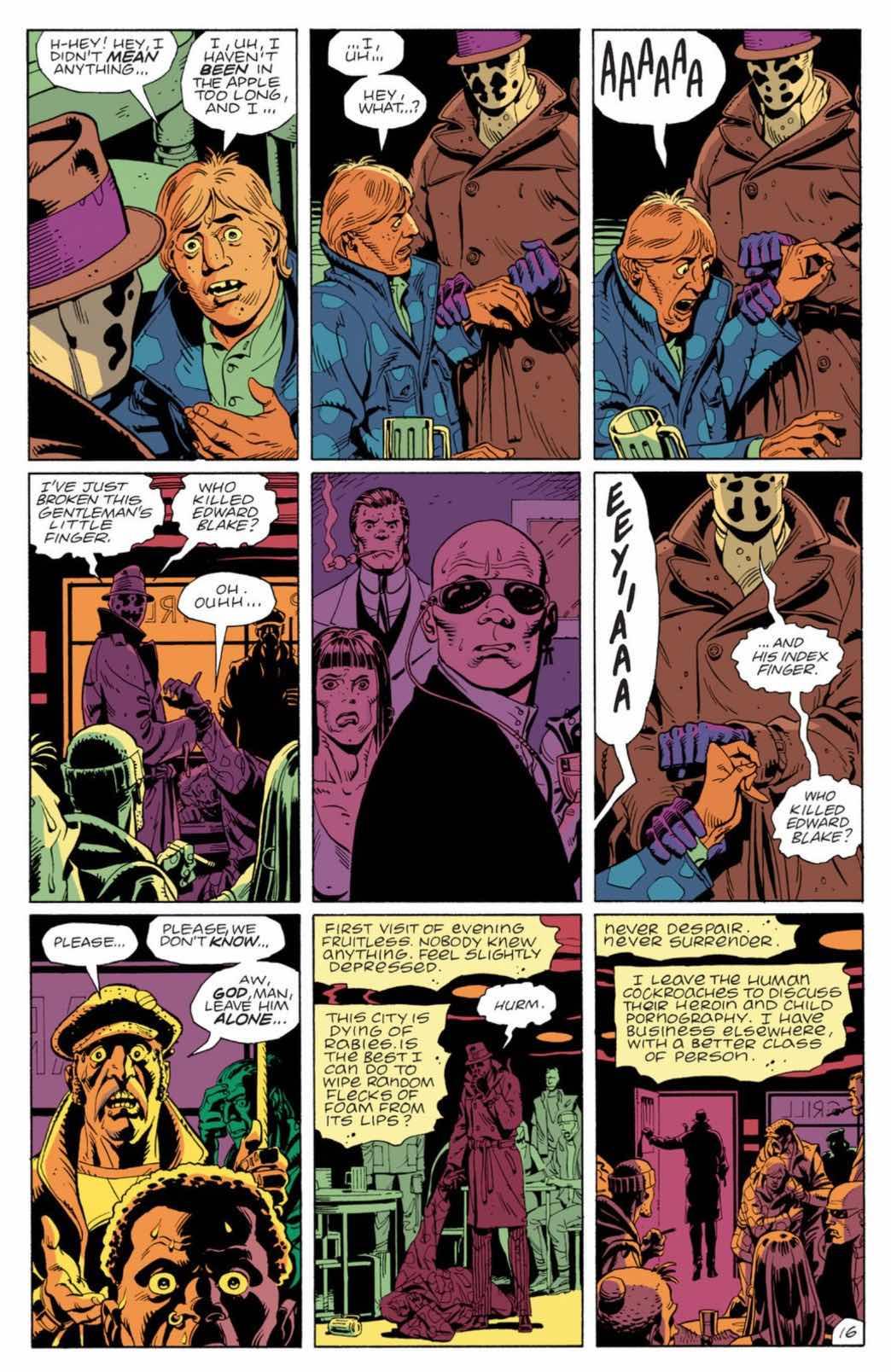 """Rorschach, """"The Watchmen"""""""
