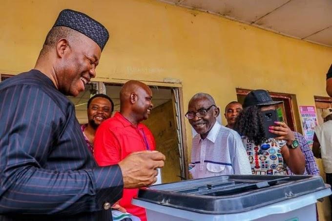 INEC Suspends The Announcement Of Results In Akpabio's Senatorial District