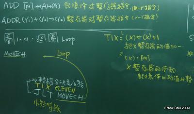 SIC組合語言程式的迴圈(loop)寫法:使用TIX及JLT指令