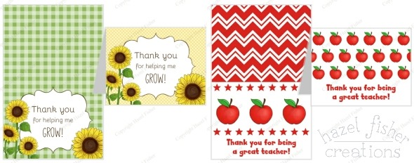 2015 June 01 may monthly review thank you teacher printables hazelfishercreations