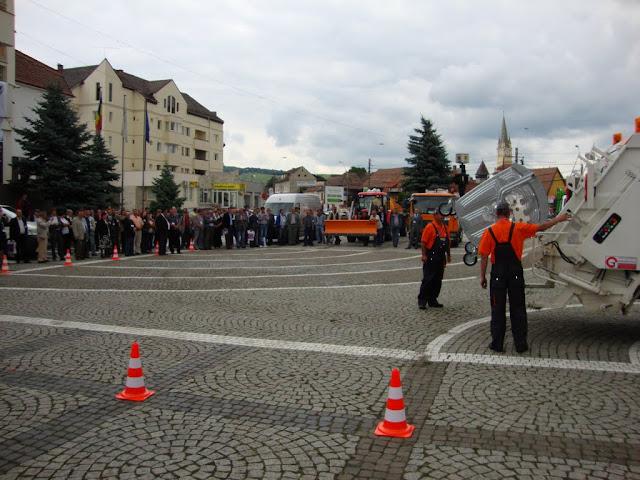 Inaugurarea, la Medias, a primului punct subteran pt. colectarea deseurilor de ambalaje din Romania - DSC06400.JPG