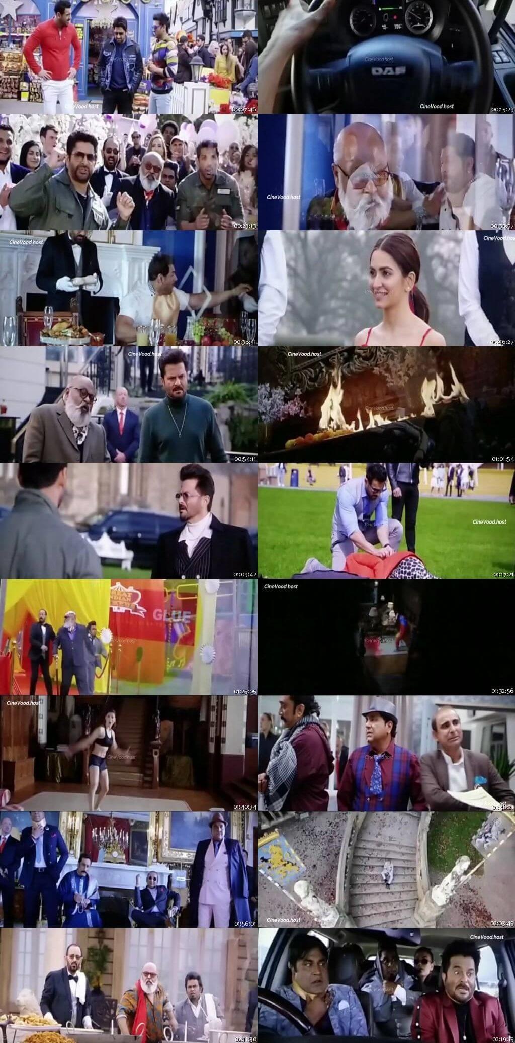 Screen Shot Of Pagalpanti 2019 Full Movie Free Download HD 720P Watch Online