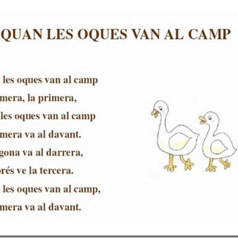 Canciones infantiles en catalán - Cançons infantils en català