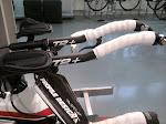 Nytt tempostyre på Merida Time Warp 2012, Profile Design Svet base bar og T2 extensions.