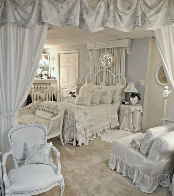 Cool Shabby Chic Bedroom Decor Ideas Fashion 2d