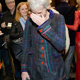 WWW.ENTSIMAGES.COM -    Judy Murray   arriving    at Dance Til Dawn - press night   Aldwych Theatre, London November 3rd 2014Strictly Come Dancing duo Flavia Cacace-Mistry and Vincent Simone  bring their new show inspired by the Golden Age of Hollywood to the West End for a limited ten week run.                                                    Photo Mobis Photos/OIC 0203 174 1069