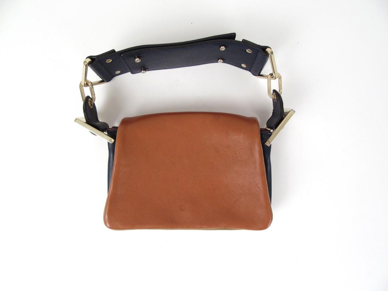 Chloe Accordian Mini Handbag