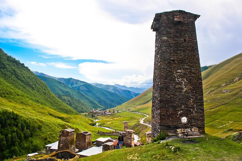 Башня в Ушгули