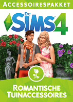 De Sims 4 Romantische Tuinaccessoires boxart