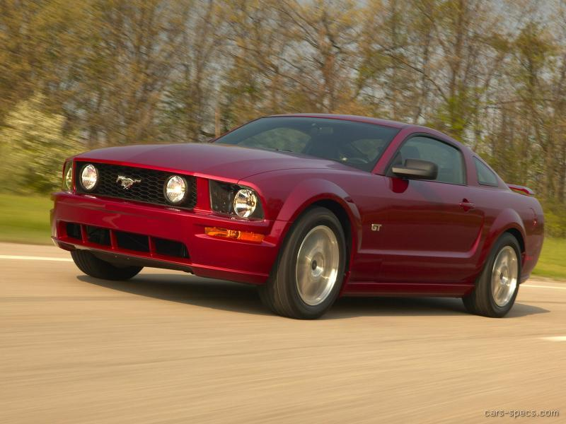 2005 ford mustang coupe specifications pictures prices. Black Bedroom Furniture Sets. Home Design Ideas