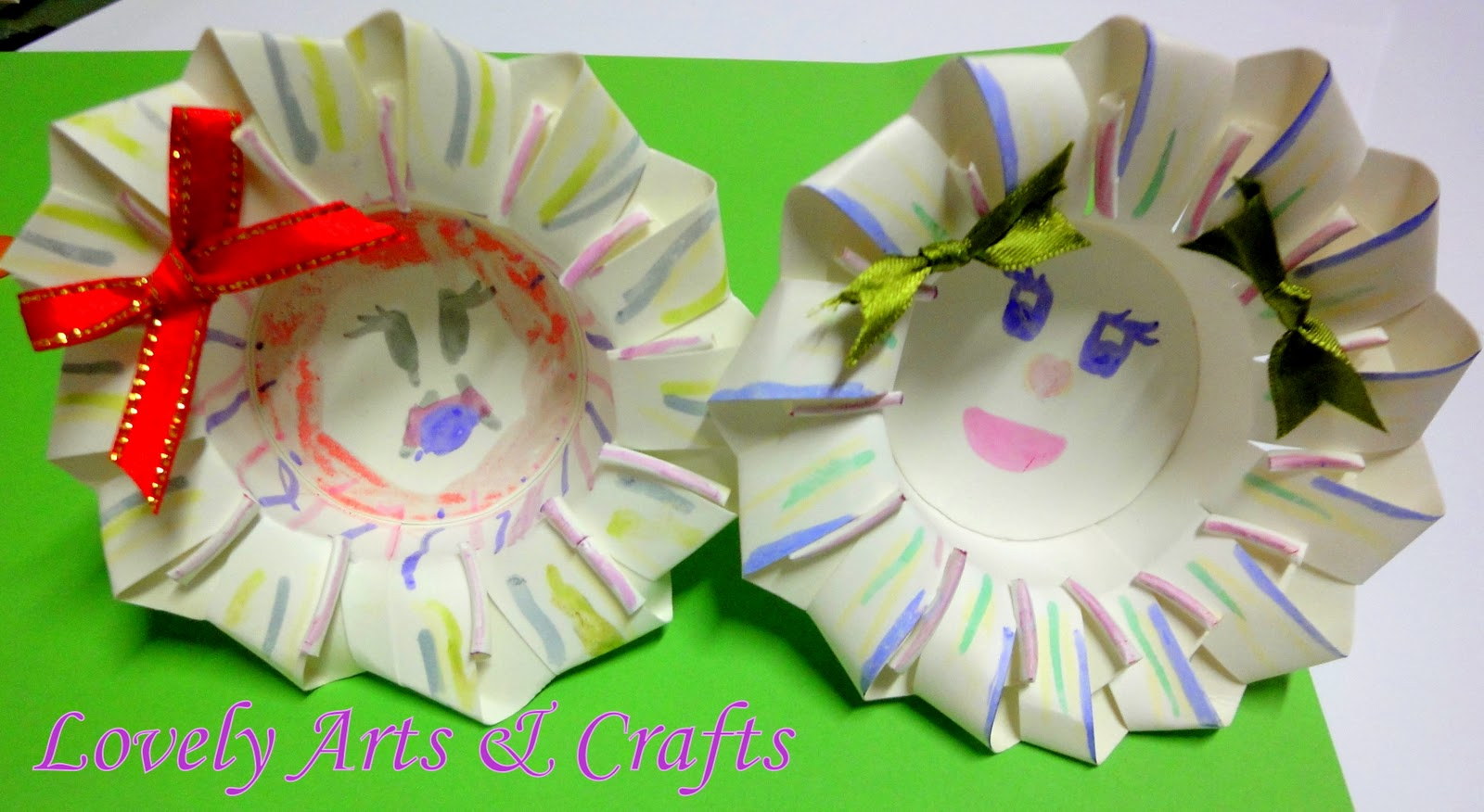 Lovely Arts Crafts V 1 Paper Cup Flowers