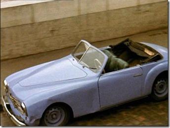 Simca 8 Sport cabriolet Zazie dans le Métro