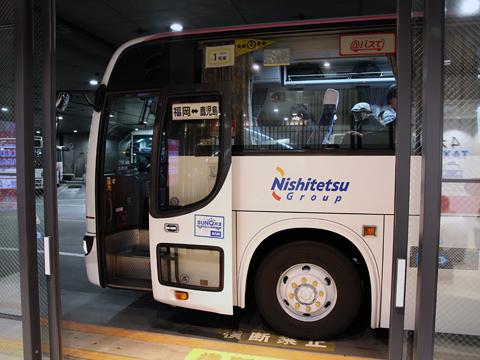 西鉄高速バス「桜島号」 6021 西鉄天神BC到着