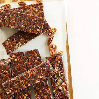 Healthy Brownie Granola Bars.
